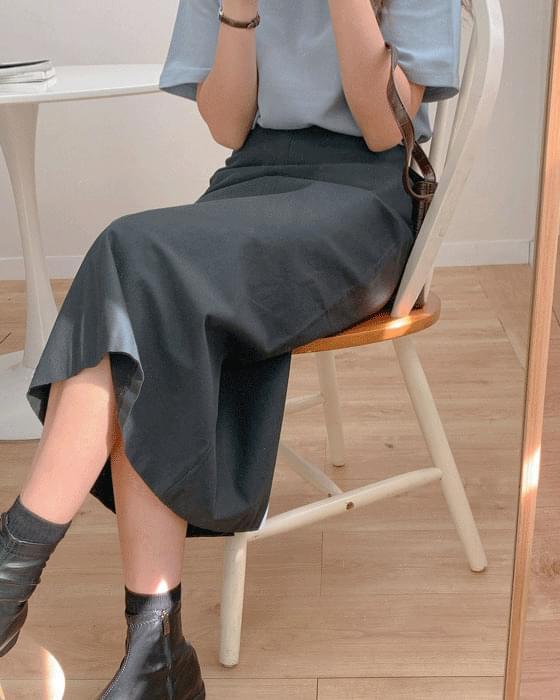 Bonia cotton long skirt-2color