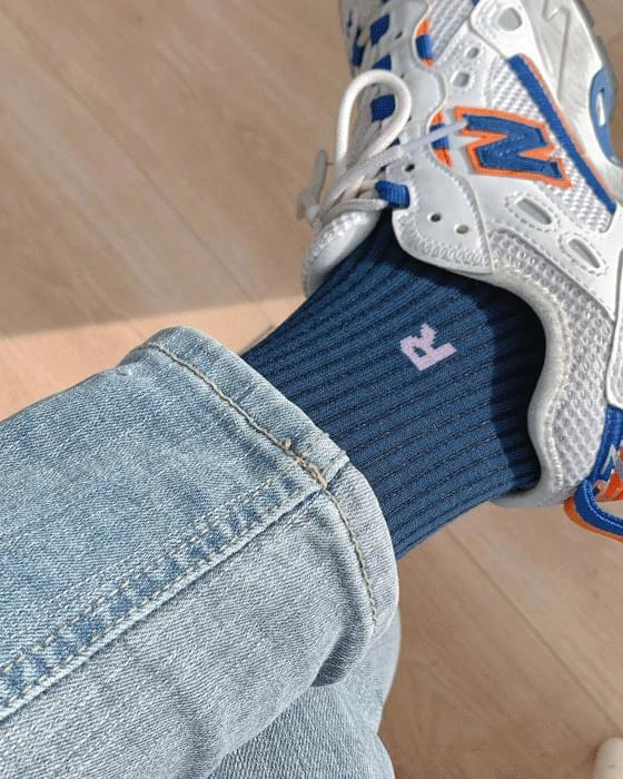 Saint R ribbed socks-4color