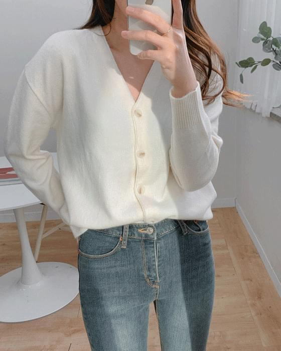 Thank You Sale♥ Cashmere v knit cardigan-6color