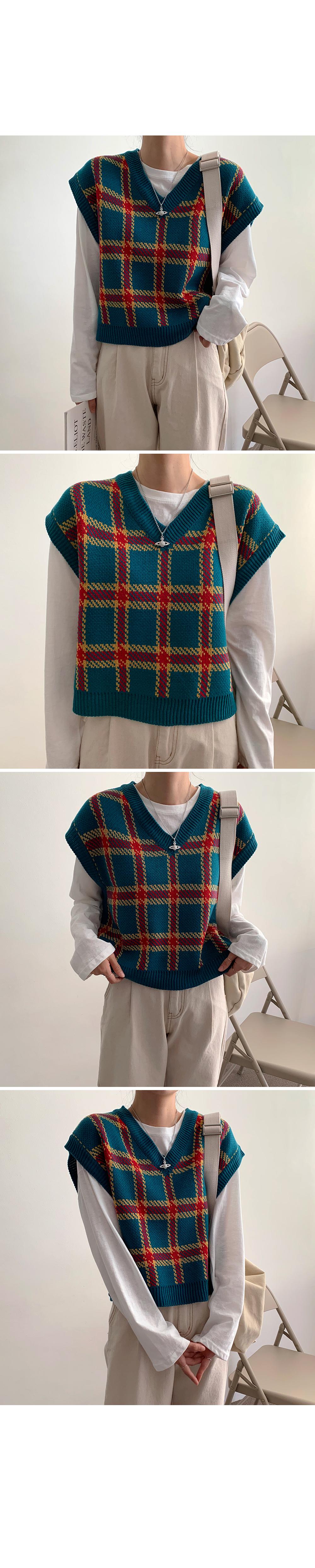 Loazard Knit Vest