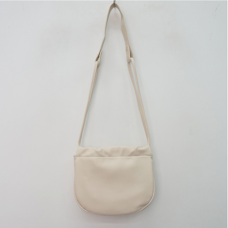 Crayon half-oval cross-body bag