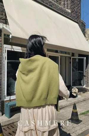 《Planned Product》 Dottom Cash Loose Fit Round Knit 針織衫