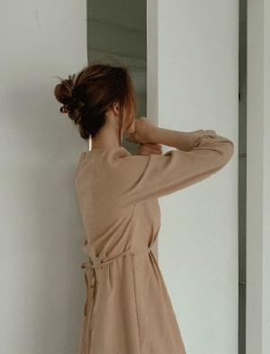Awesome Pintuck Corduroy Dress ワンピース