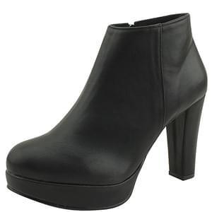 Gaboshi High Heel Ankle Boots 10cm Black