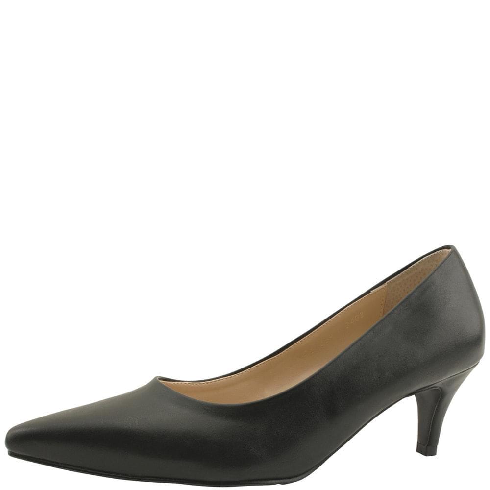 Basic Stiletto Middle Heel 6cm Black