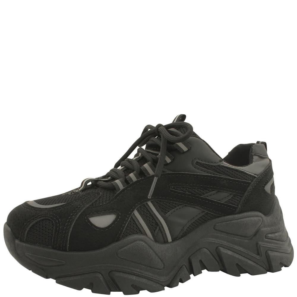 Platform Ugly Shoes Sneakers 6cm Black