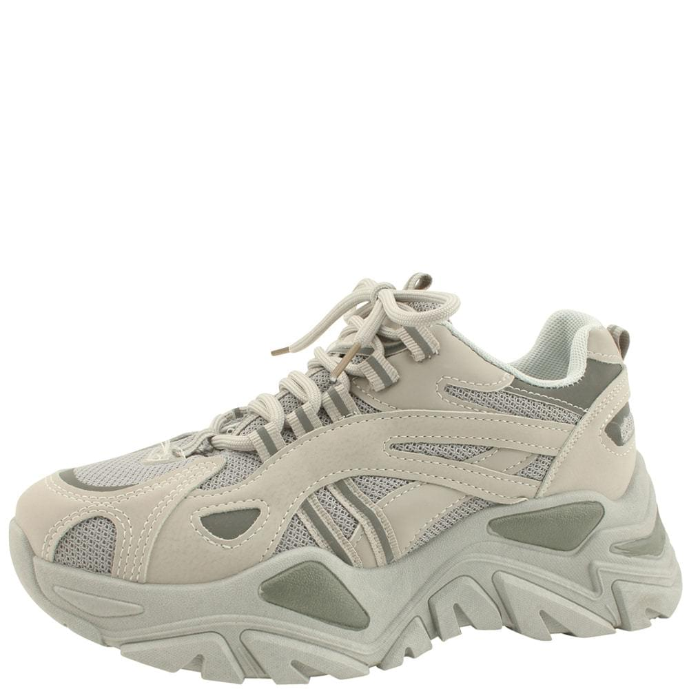 Platform Ugly Shoes Sneakers 6cm Gray