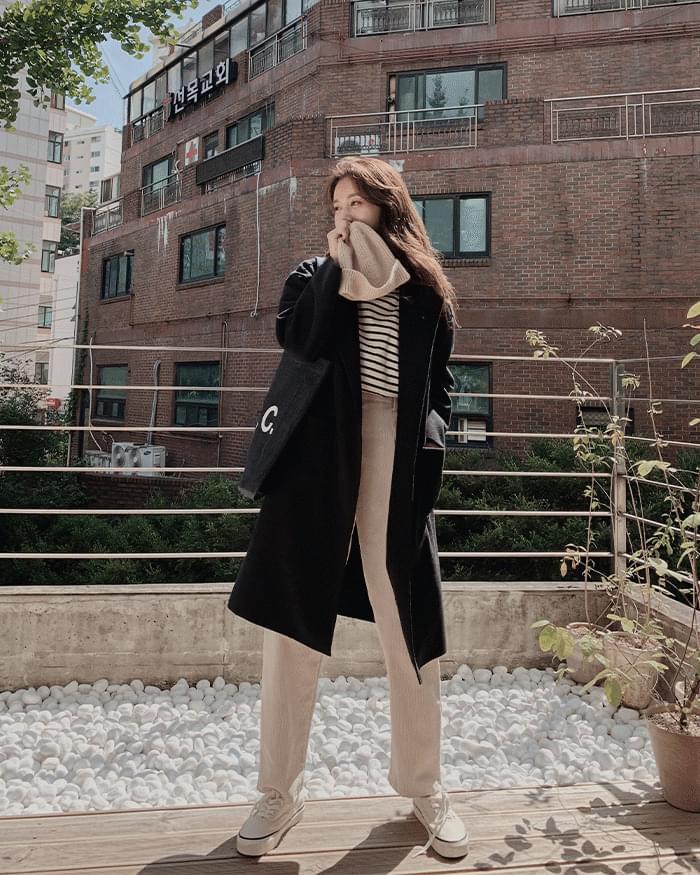 Meringue Basic Long Coat