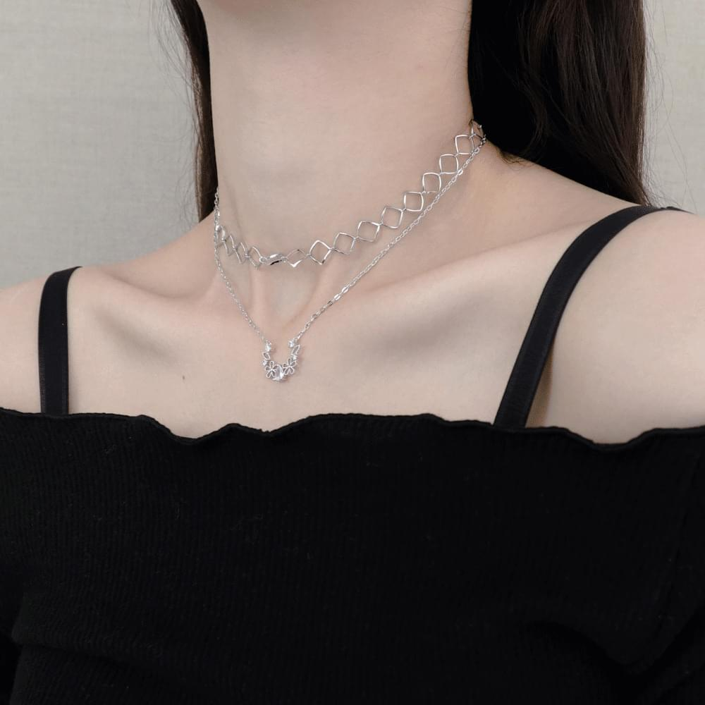 square chain cubic droplet choker