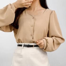 Barney chiffon blouse 襯衫