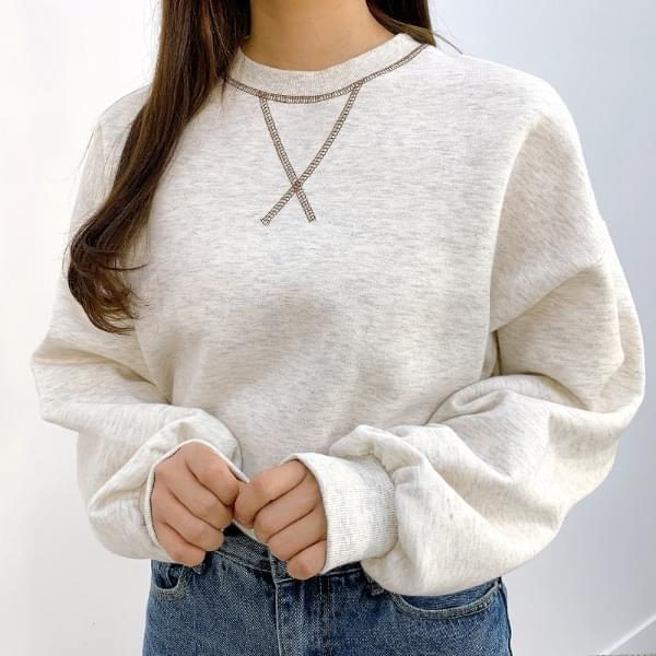 Fostic X brushed sweatshirt