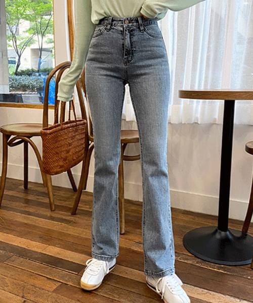 Gracie Washed Bootcut Jeans