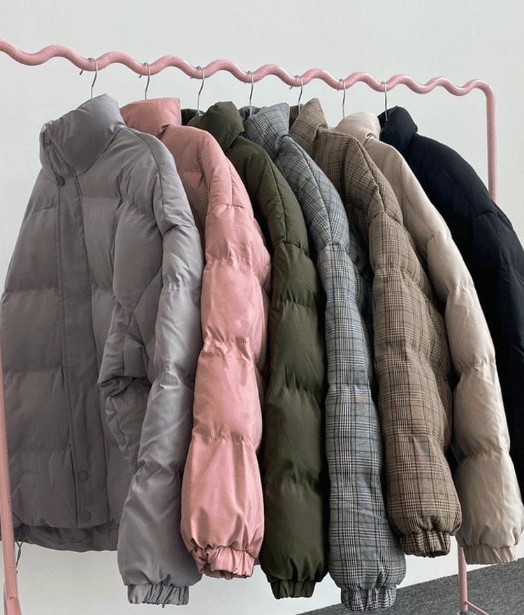 オーバーサイズ中綿ジャケット
