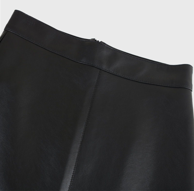 Mare Leather Skirt