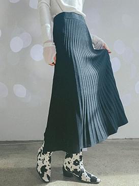 Wool loli knit skirt 裙子