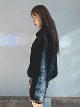 Flow fur jacket ジャケット