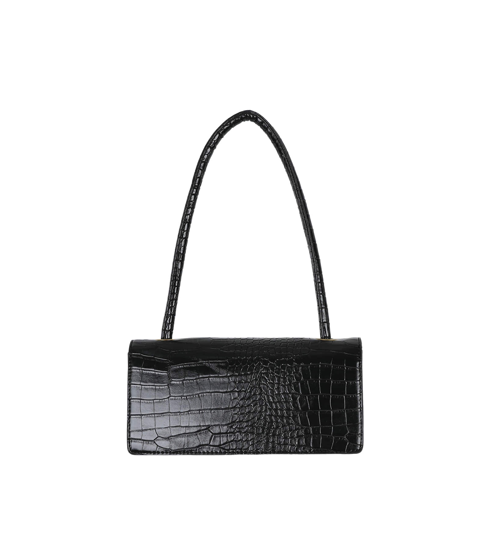 Brim animal pattern square tote bag