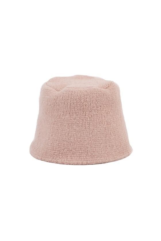 Vivid knit bucket hat 帽子