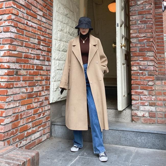 Wanted fit handmade wool coat