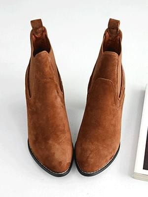 Taitsu Leather Western Chelsea Boots 6cm