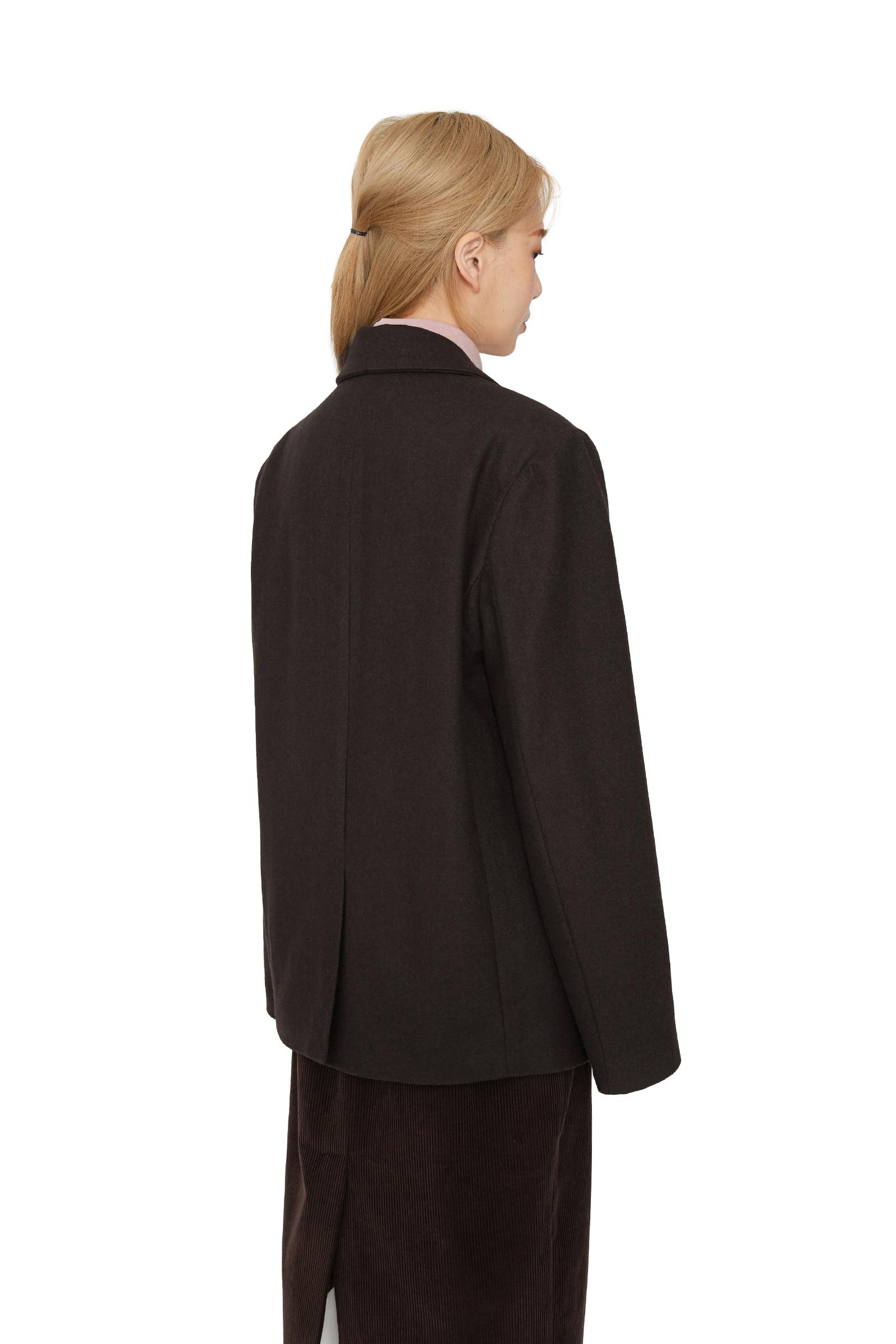 Chess single wool blazer