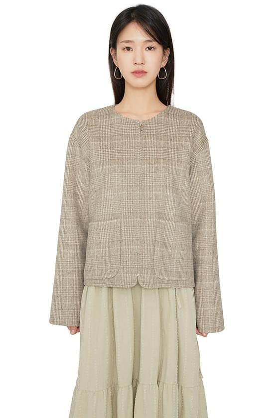 Howell handmade zip-up short coat