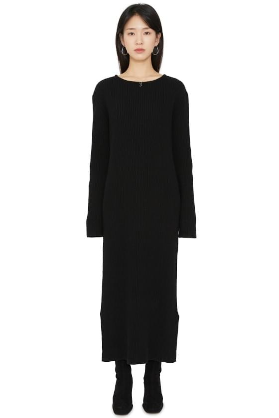Carrot Knit Maxi Dress