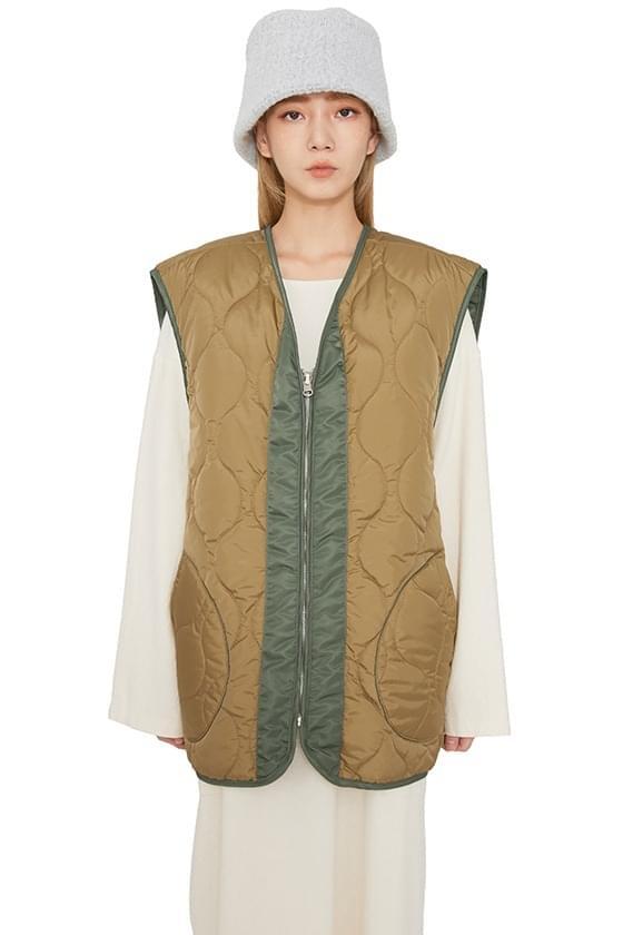 Ape reversible padded vest