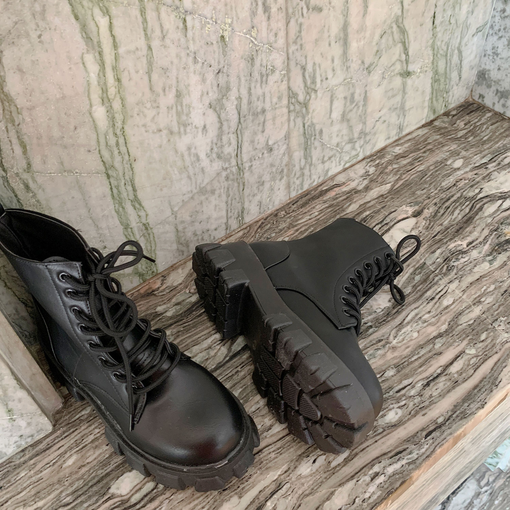 Full Heel Walker Boots 5cm