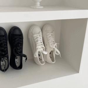 High heel sneakers 4cm