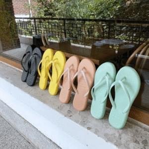 Fluffy slippers 1cm