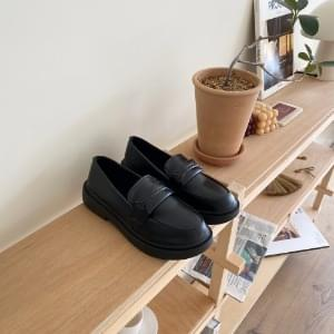 High heel loafers 3cm