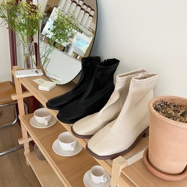 Low Ankle Boots 3.5cm