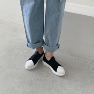 Banding heel sneakers 4cm