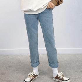 Kins Denim Slim Straight Pants 牛仔褲