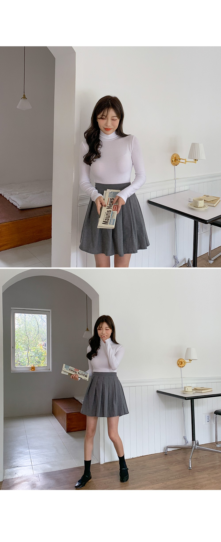 Qu&k pleats SK ♥ shorts lining