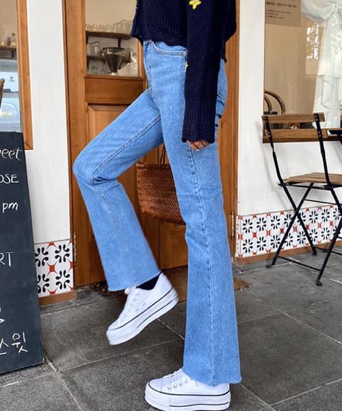 Follow long bootcut jeans