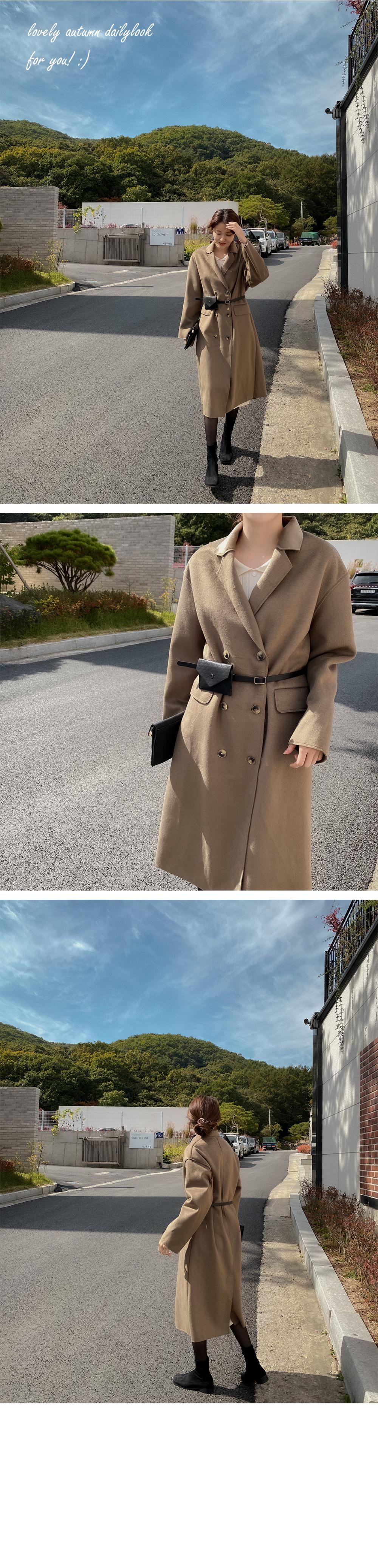 Rapid Belt Bag Coat-2color