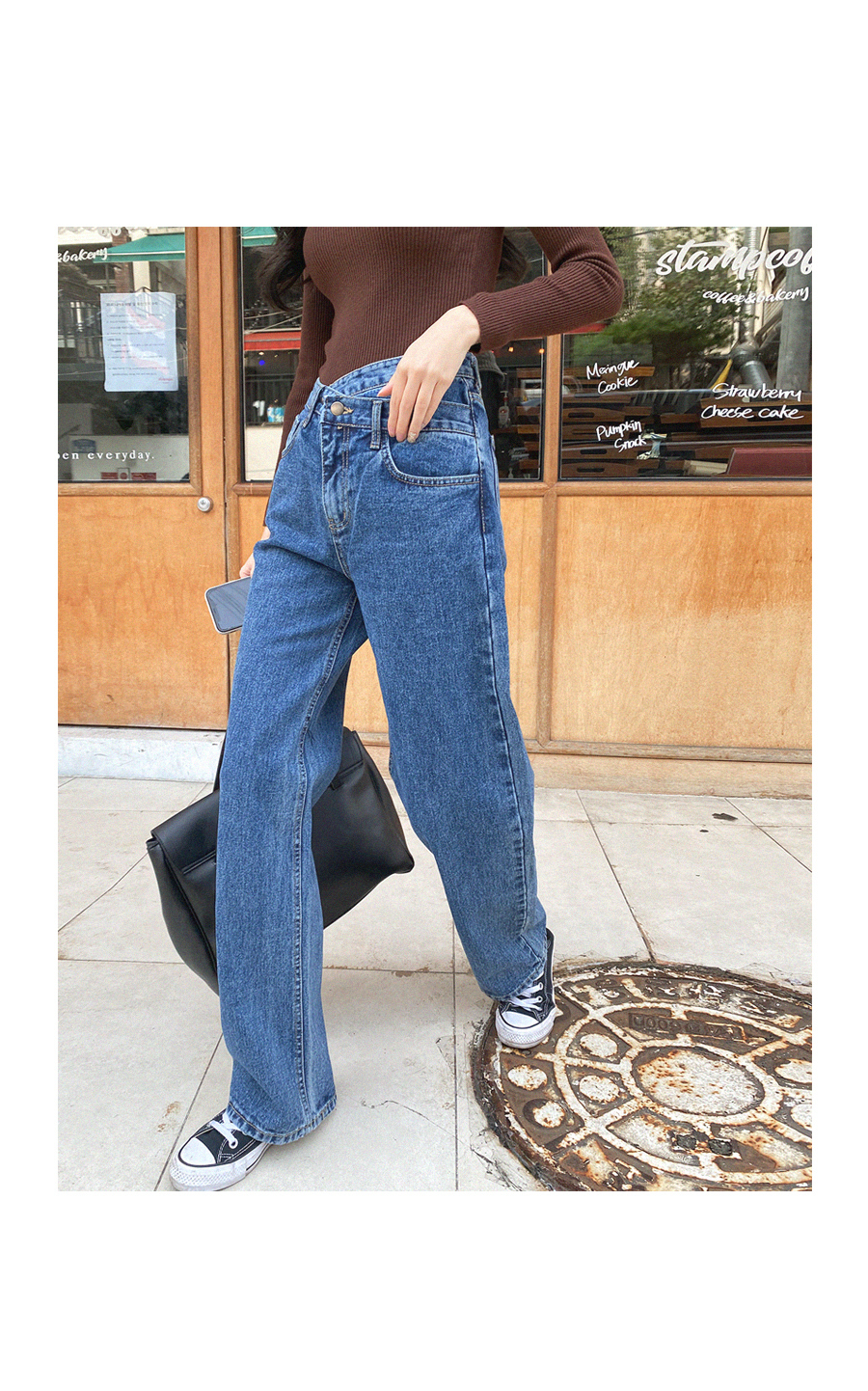 Uncommon Straight Fit Double Fastening Denim Pants