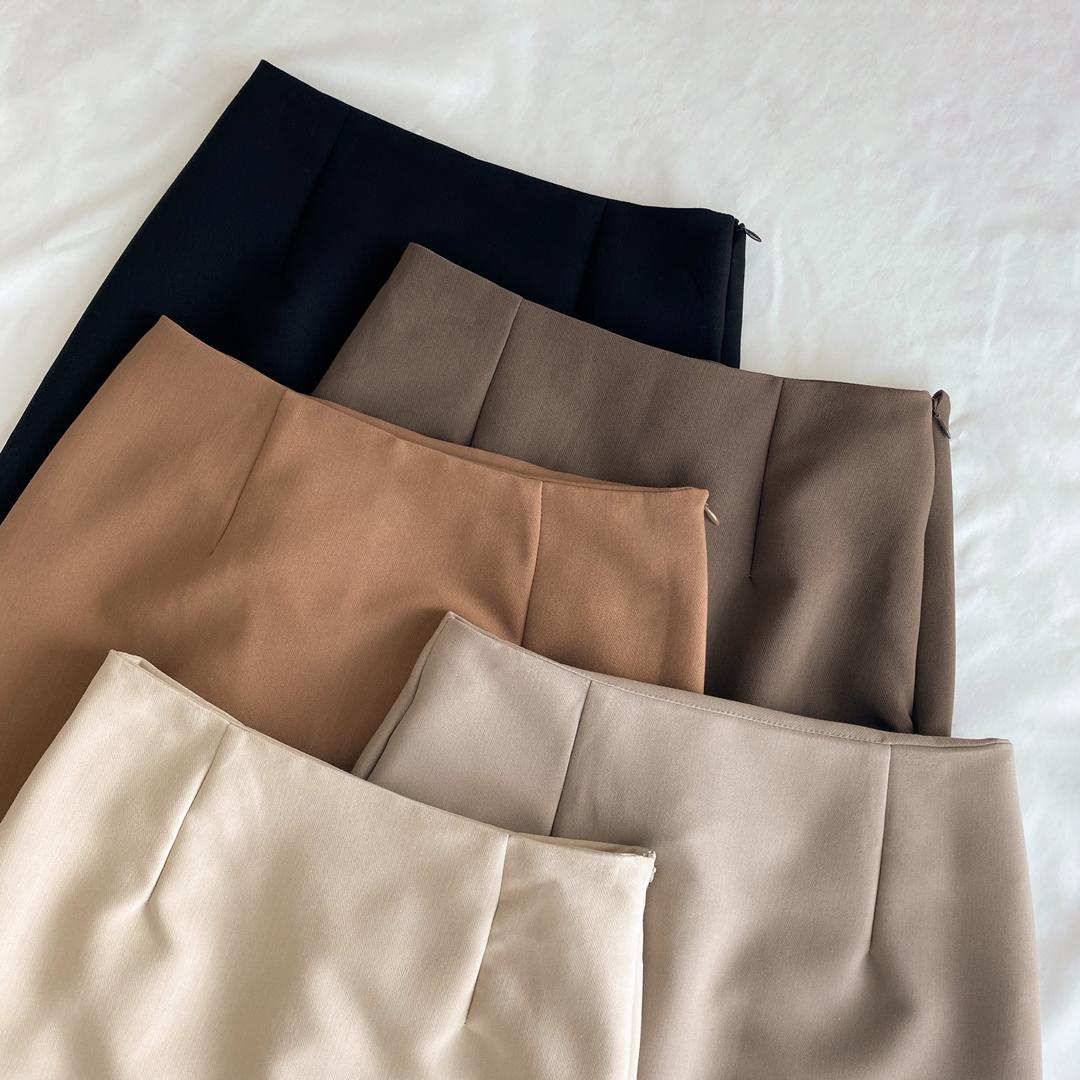 Pore mini skirt