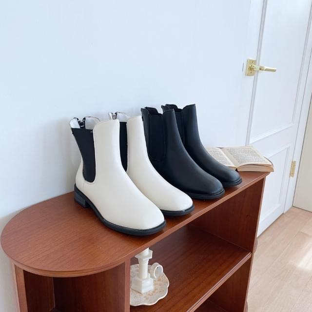 Basic Chelsea Ankle Boots 3cm