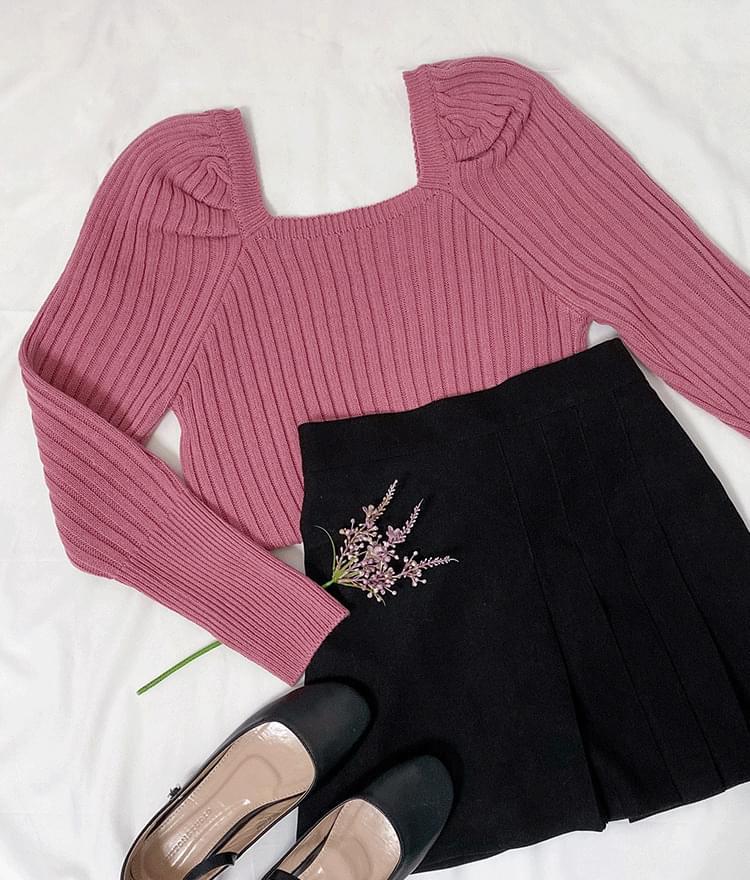 Luna puff knit 針織衫