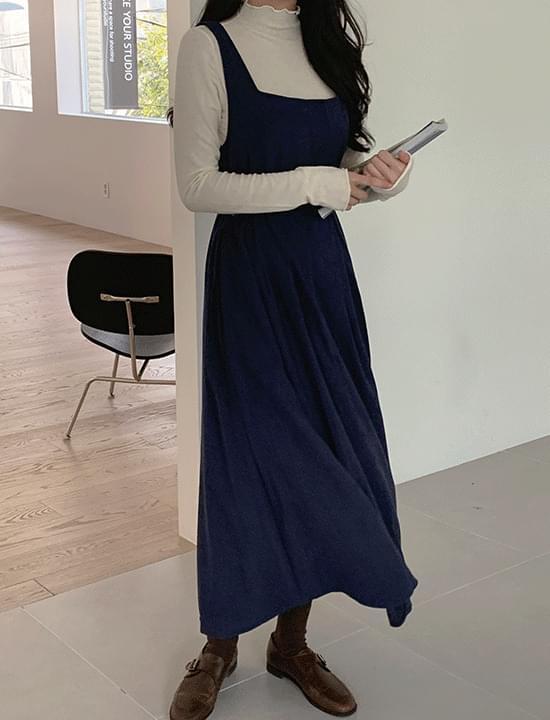韓國空運 - Echel Flare Dress 及膝洋裝
