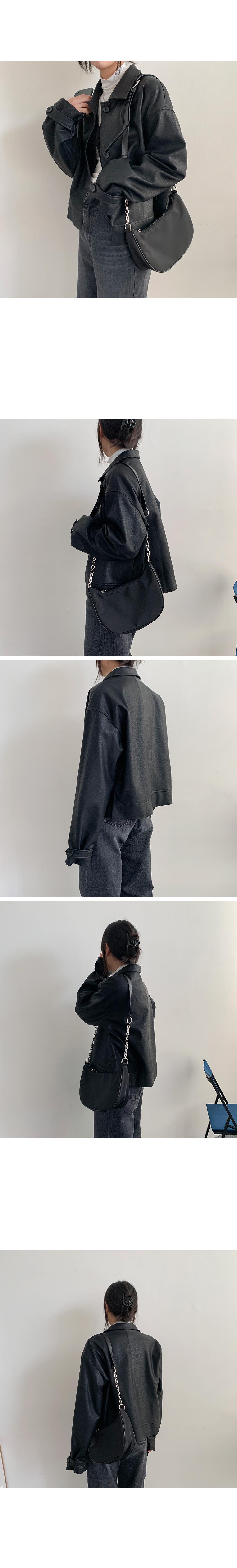 Classic Black Leather Jacket