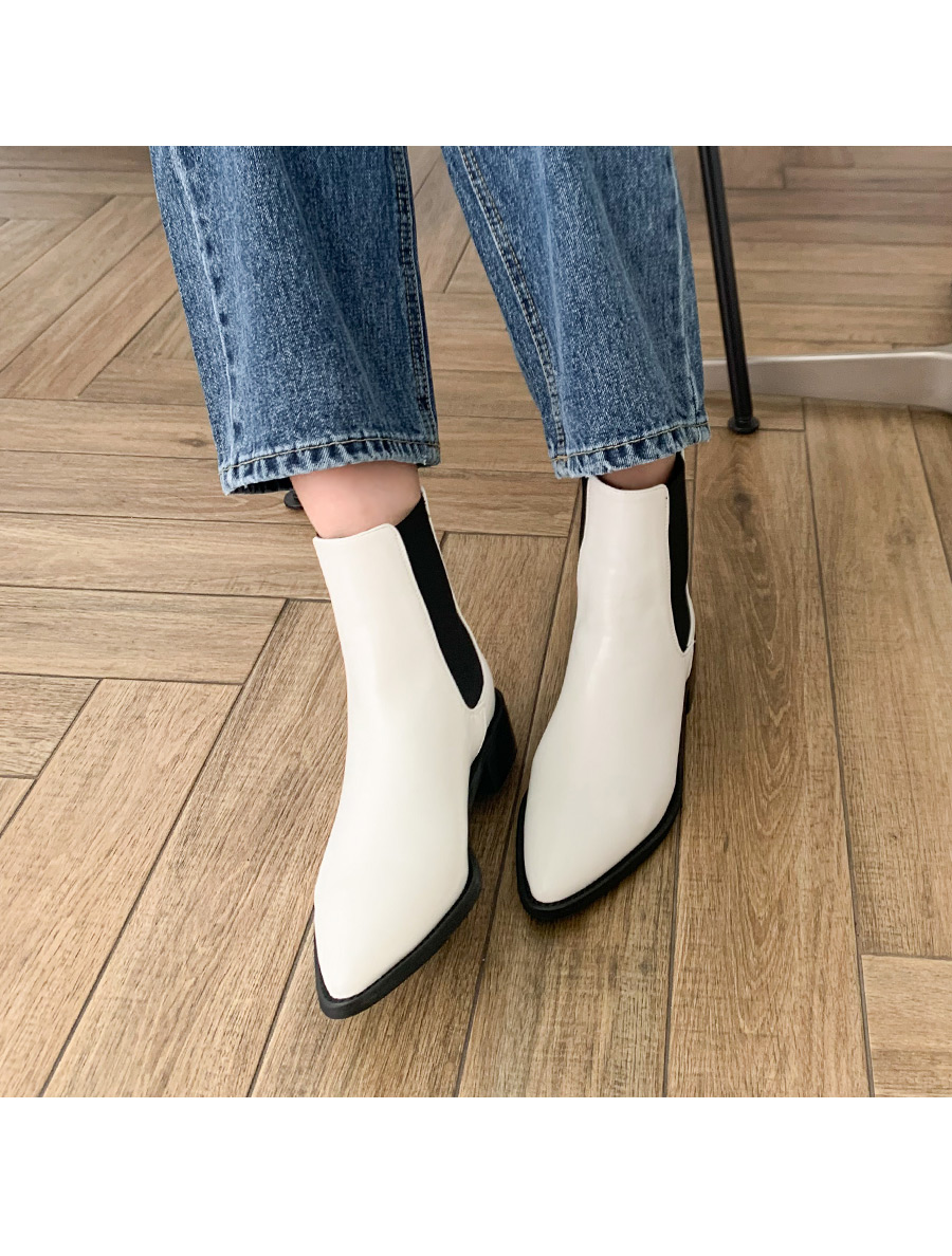 Modern High Ankle Chelsea Boots