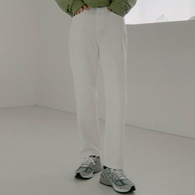 Cozy Straight Fit Cotton Pants