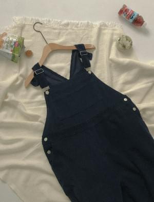 Muse corduroy overall pants