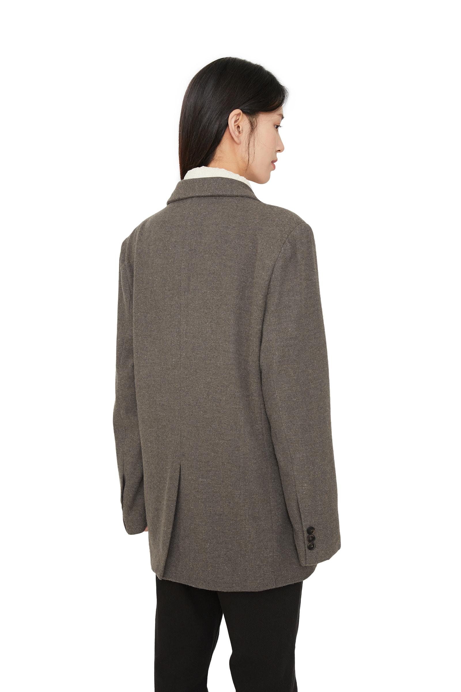 Raul wool single blazer