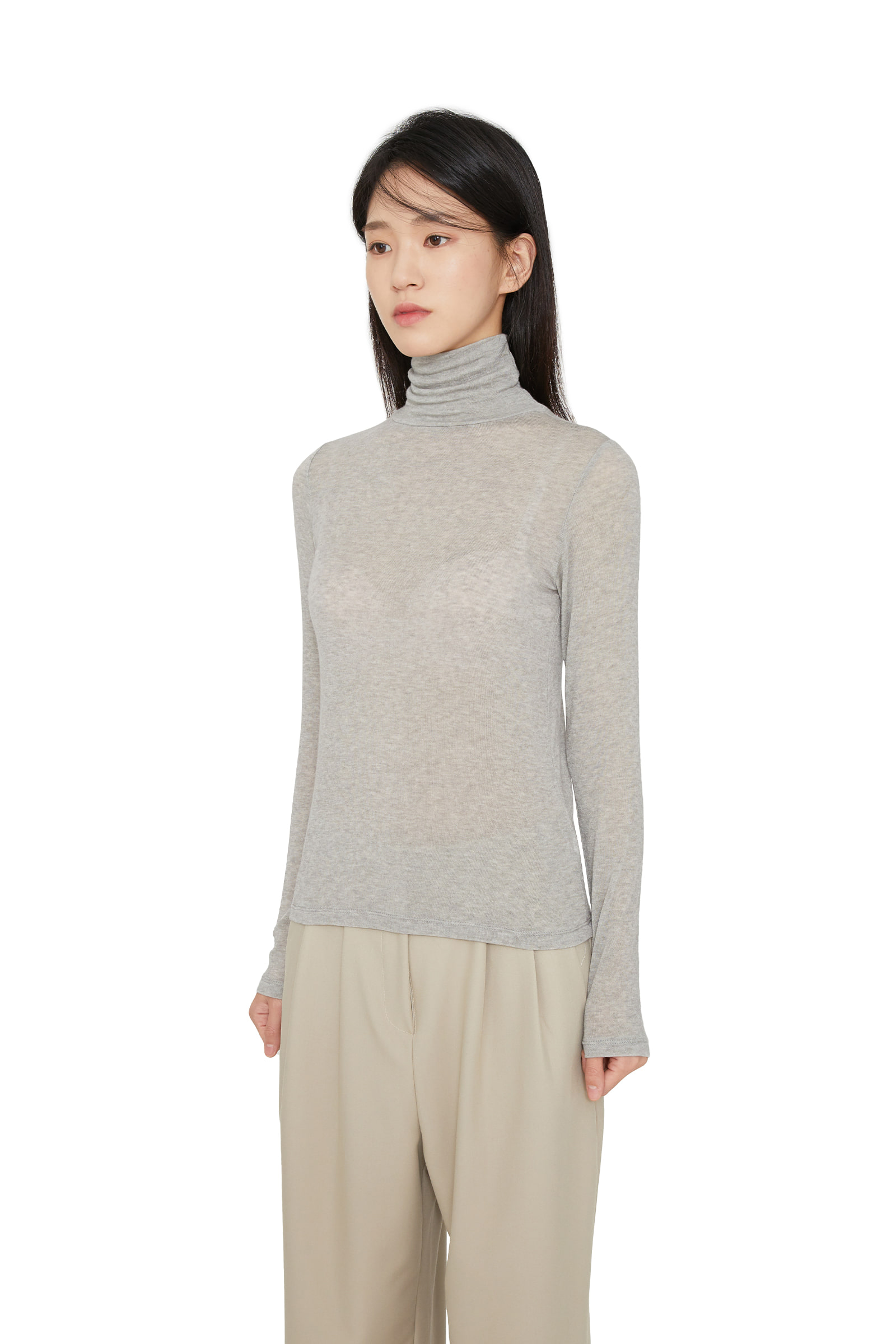 Ander Wool Tencel Polar Top
