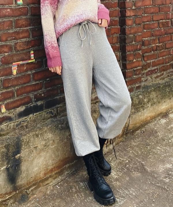 韓國空運 - Training knit jogger trousers 長褲